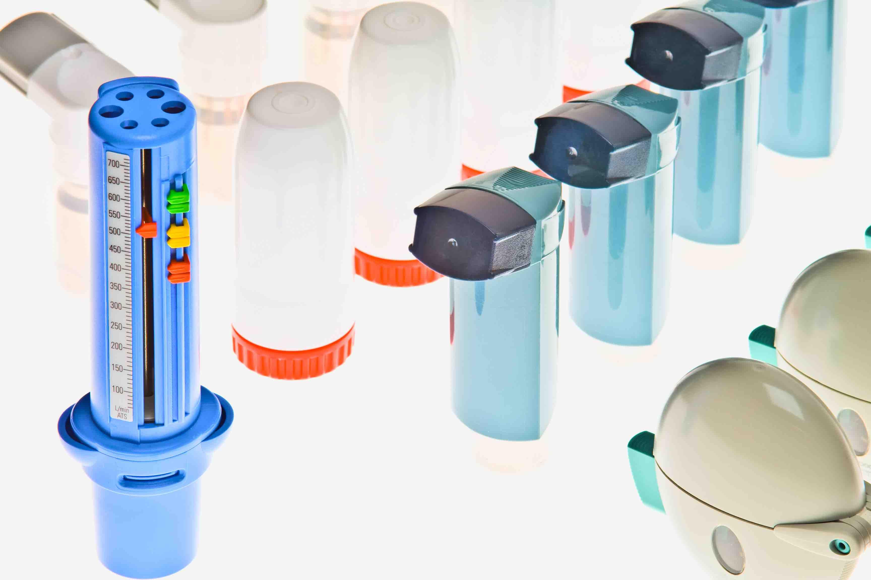 Diferentes dispositivos de inhalación para diferentes personas