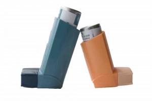 Asma: inhaladores de alivio y de control de la inflamación bronquial