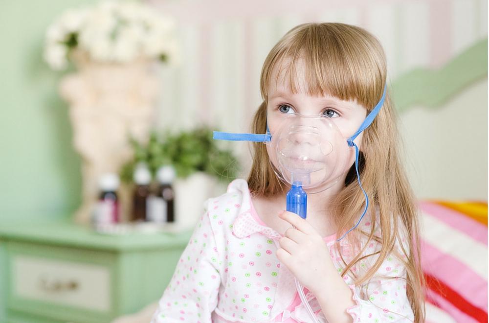 Paciente con asma registro función pulmonar