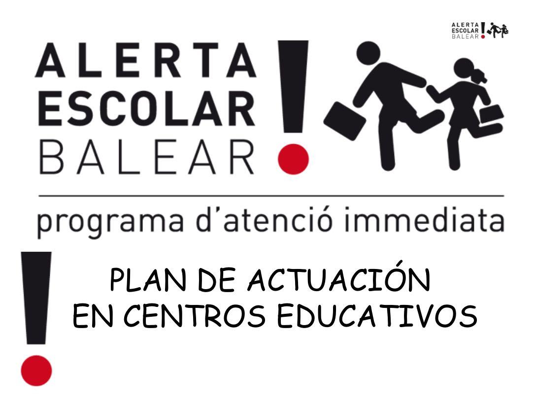 Programa Alerta Escolar Balear: un ejemplo a seguir