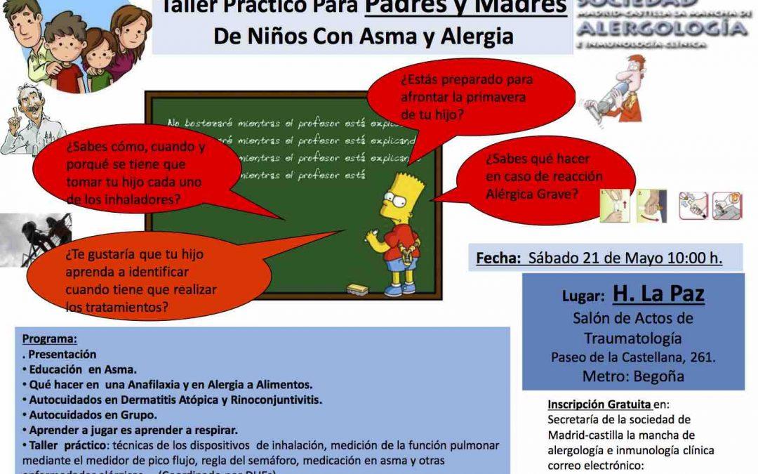 Escuela de padres de niños con asma y/o alergia (21/05/16)