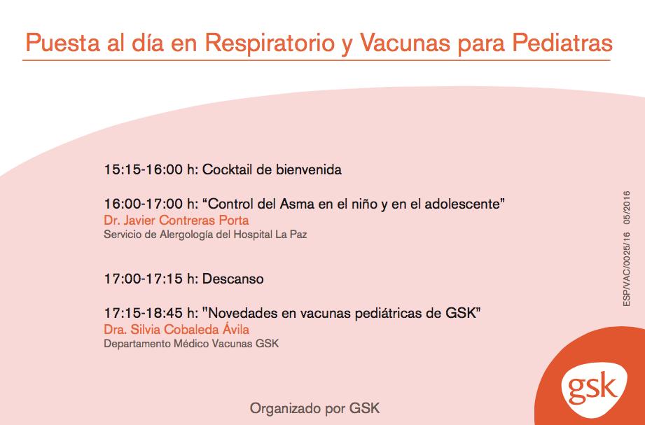 Puesta al día en asma infantil y vacunas para pediatras