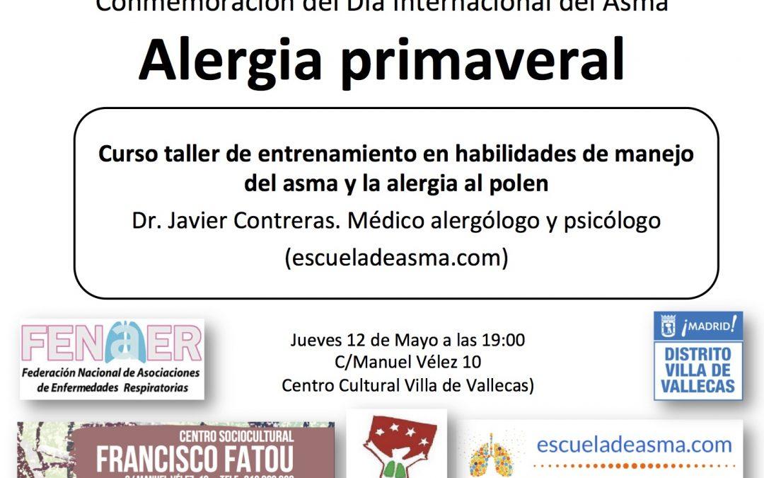 Taller educativo para personas con alergia al polen
