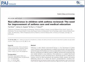 Adherencia al tratamiento del asma infantil