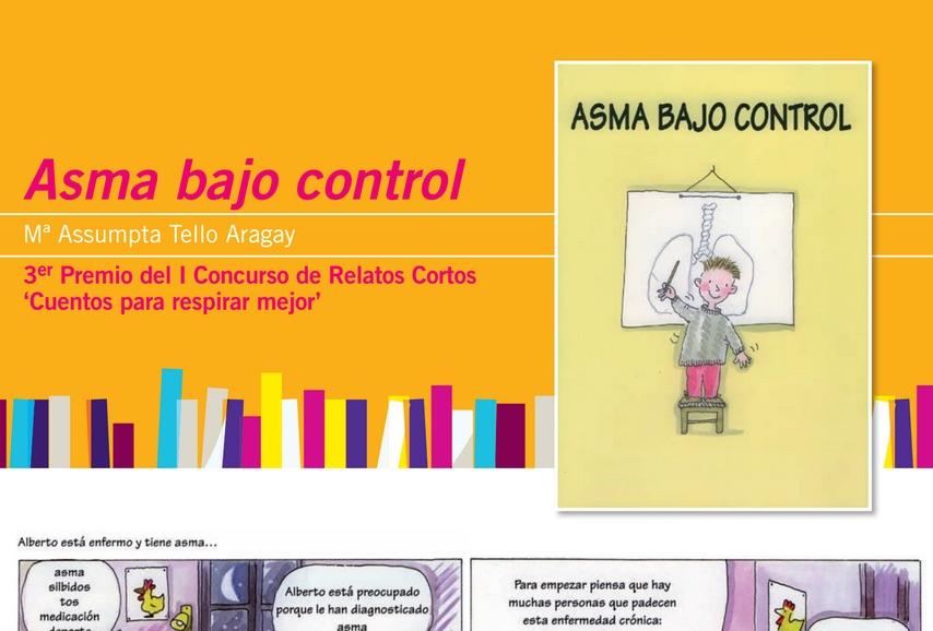"""Cuentos para niños con asma: """"Asma bajo control"""" (Mª A. Tello)"""