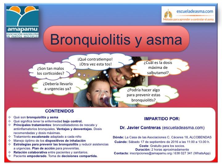 Curso de bronquiolitis y asma (17/09/16 – Amapamu)