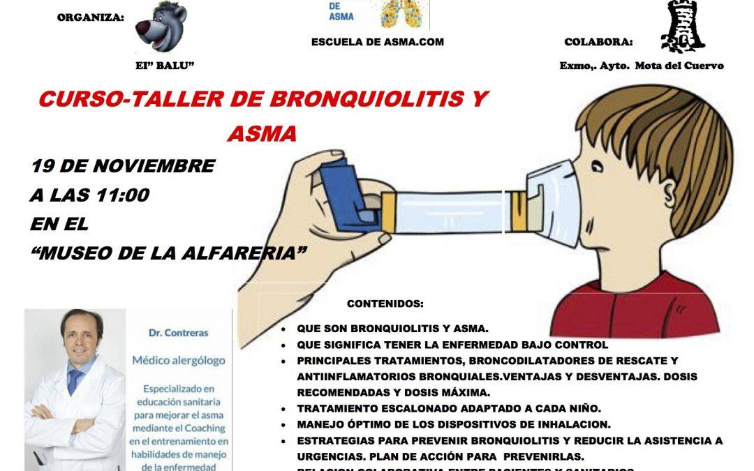 Curso-taller de bronquitis y bronquiolitis