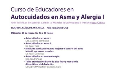 Curso de educadores en asma y alergia (Marzo-2017 -Madrid y Castilla La Mancha-)