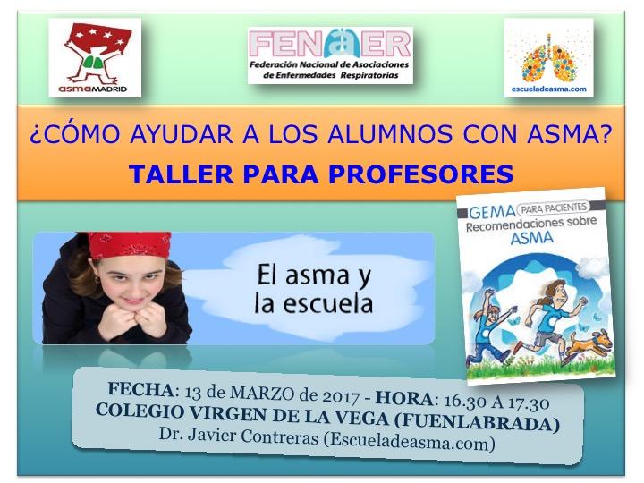 TALLER DE ASMA PARA PROFESORES (MARZO-17)