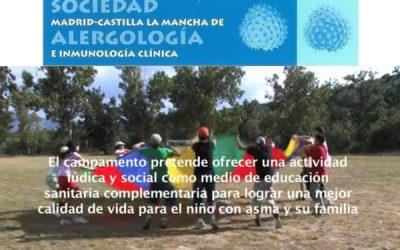 Vídeo del campamento para niños con asma (SMCLM)