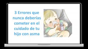 3 Errores frecuentes en el manejo del asma infantil