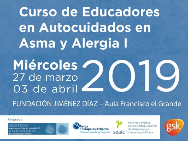 Curso de Educadores en Autocuidados en Asma y Alergia