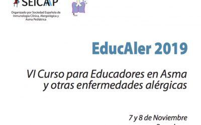 Curso de educación en asma y alergia EDUCALER 2019 (SEICAP)