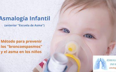 """Cambiamos el nombre """"Escuela de asma"""" por """"Asmalogía Infantil"""""""