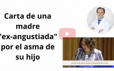"Ganar la batalla al asma infantil. Vídeo ""Carta de una madre ex-angustiada"""